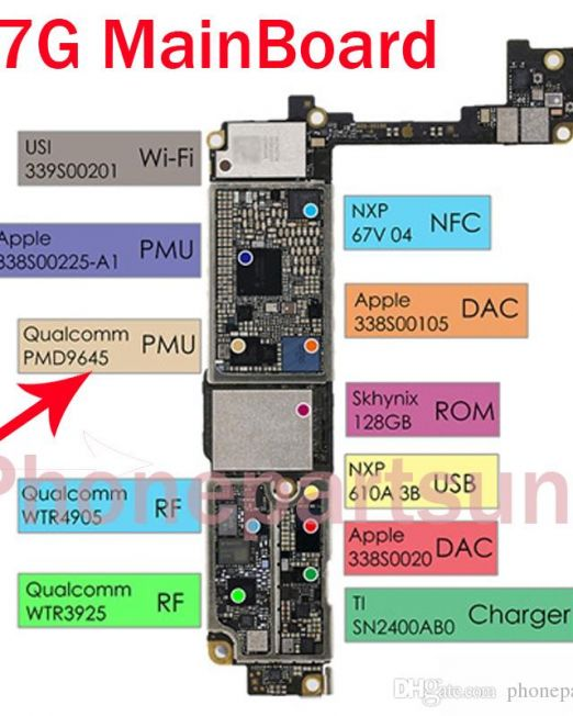 IC PMU QUALCOM IPHONE 7